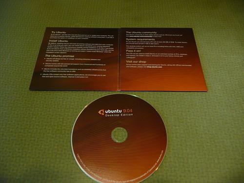 disco de ubuntu