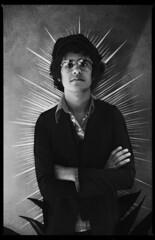 Omar Rodriguez of The Mars Volta (oscarinn) Tags: portrait blackandwhite blancoynegro rock mexico retrato themarsvolta prog omarrodriguez coyaocan thelightshinesonthosewhoshallleadthewaytorockheaven