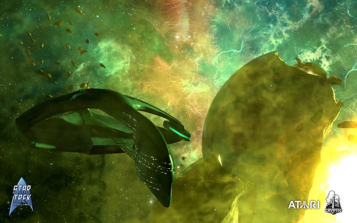 Romulan ships in the latest Star Trek Online screens