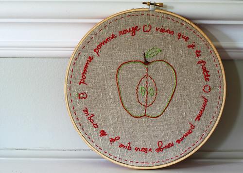 pomme pomme rouge 133/365