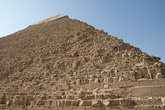 Kharfre pyramid details (future15pic) Tags: africa travel vacation history sphinx museum architecture temple ancient rocks desert may egypt cairo massive egyptian pyramids archeology 2009 giza khufu pharoh menkaure kharfre
