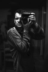 @autoportrait twice upon (sylvain.landry) Tags: light portrait bw man color eye art smile look night contrast photoshop canon wow hair photo interestingness interesting noir autoportrait emotion humanity expression top culture ampoule oeil yeux iso attitude human lumiere winner passion trust contraste reality fav fx top20 carricature soir nuit sourire dragan blanc impression hdr couleur mirroir nightvision 5star miror homme vie silouhette regard sincere vivre realistic cheveux favori traits ressemblance humain faithfull realisme ralit top20hdr eos50d abigfave paraitre 5hearts honnete
