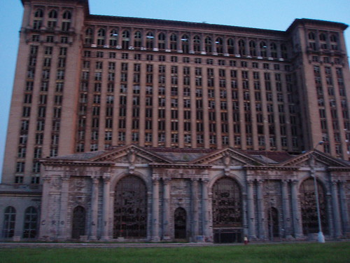 Michigan Central Station, abandoned P5240048