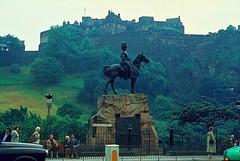 Edimburgo (Gran Bretaña) (Gildela) Tags: ecuestre edinburgo figura