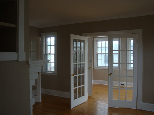 Living room looking into Sunroom