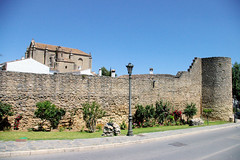 Ronda Old City Wall III (cwgoodroe) Tags: summer costa white hot sol beach del bells spain ancient europe churches sunny bull bullfighter adobe ronda moors walls washed clothesline protective newbridge roda bullring stonebridge oldbridge spainish whitehilltown rondah spanishdoors