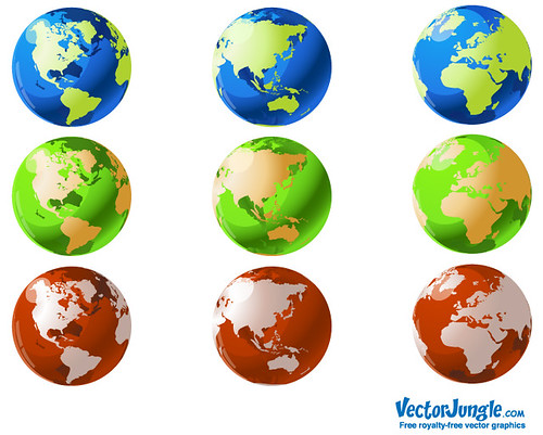world map icon.  Globe World Map Icon Set
