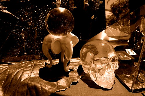 Sepia Skull
