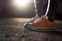 (✧S) Tags: light orange car night shoes lulu lensflare zipper leggings davidandgoliath thissucks