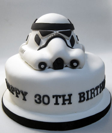 Stormtrooper Cupcakes From Coolest Birthday Cakes All A Pound Six