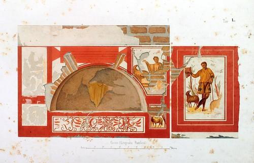 021- Arcosolio pintado los colores muy dañados-La Roma sotterranea cristiana - © Universitätsbibliothek Heidelberg