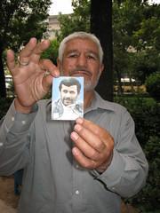 An Ahmedinejad supporter (bbcworldservice) Tags: election iran iranian presidentialelection iranians iranelection bbcpersian bbcworldservice mousavi iranianpeople irancrisis ahmedinajad iranianelection iranianpresidentialelection bbciran iraniancrisis
