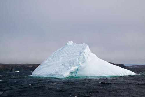 From flickr.com: Iceberg in Newfoundland Canada {MID-71246}