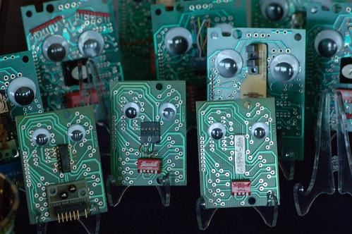 Badge Bots created by Liz Mamorsky
