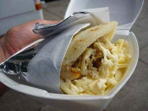 Arepas Joint Food Truck Menu
