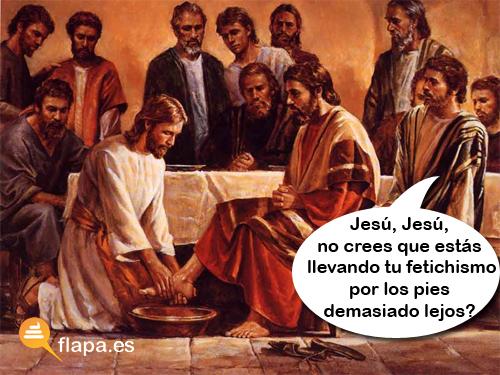 jesus fetichismo