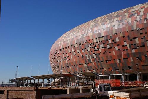 Soccer City - facade