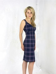 short tartan dress (dunikowski) Tags: dress traje vestido kleid suknia sukienka dagnez
