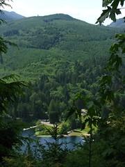 First view of W. Lake Samish