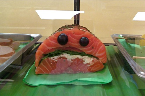 Sad salmon