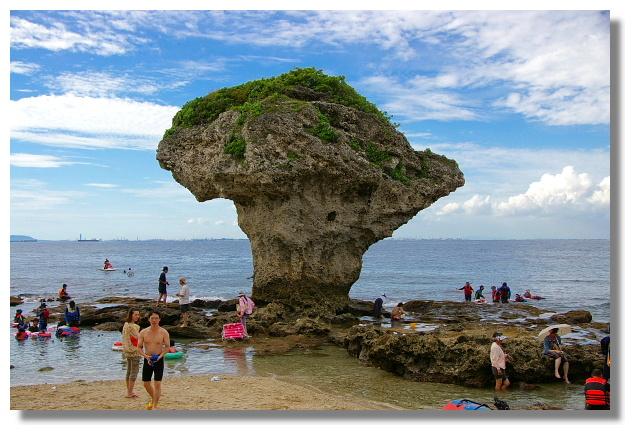 小琉球地標:花瓶岩