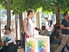 Charity case (jglsongs) Tags: city people israel jerusalem    yerushalayim  benyehudastreet benyehuda