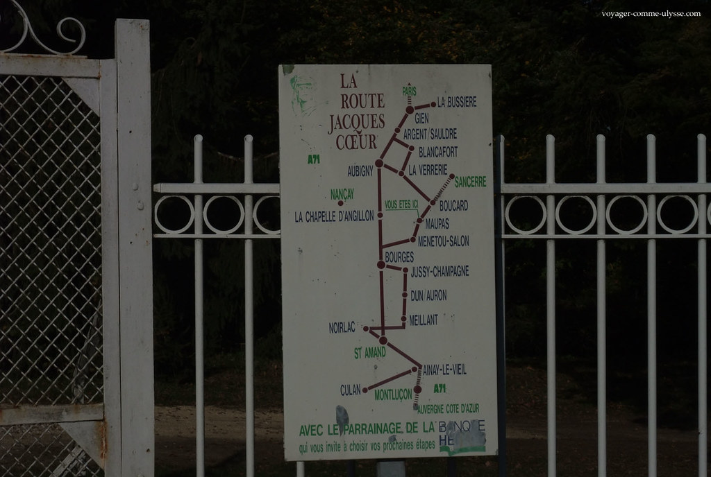 La route Jacques Cœur