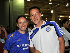 "John Terry and I after the Dallas game • <a style=""font-size:0.8em;"" href=""http://www.flickr.com/photos/36541101@N03/3795406881/"" target=""_blank"">View on Flickr</a>"