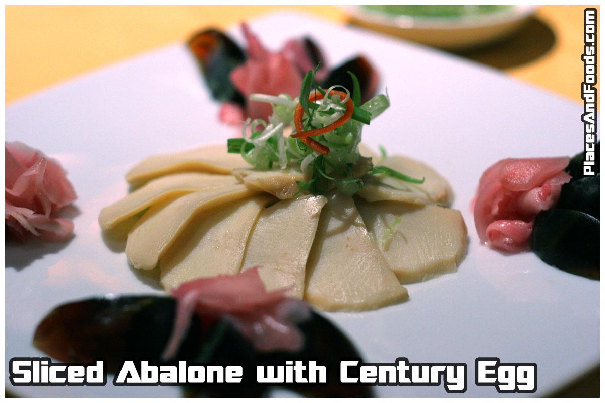 abalone - century egg
