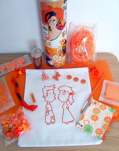 """""""Orange"""" Pringles Can Swap Package!"""