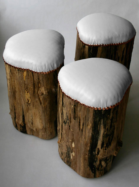 stump stool door cumulus project