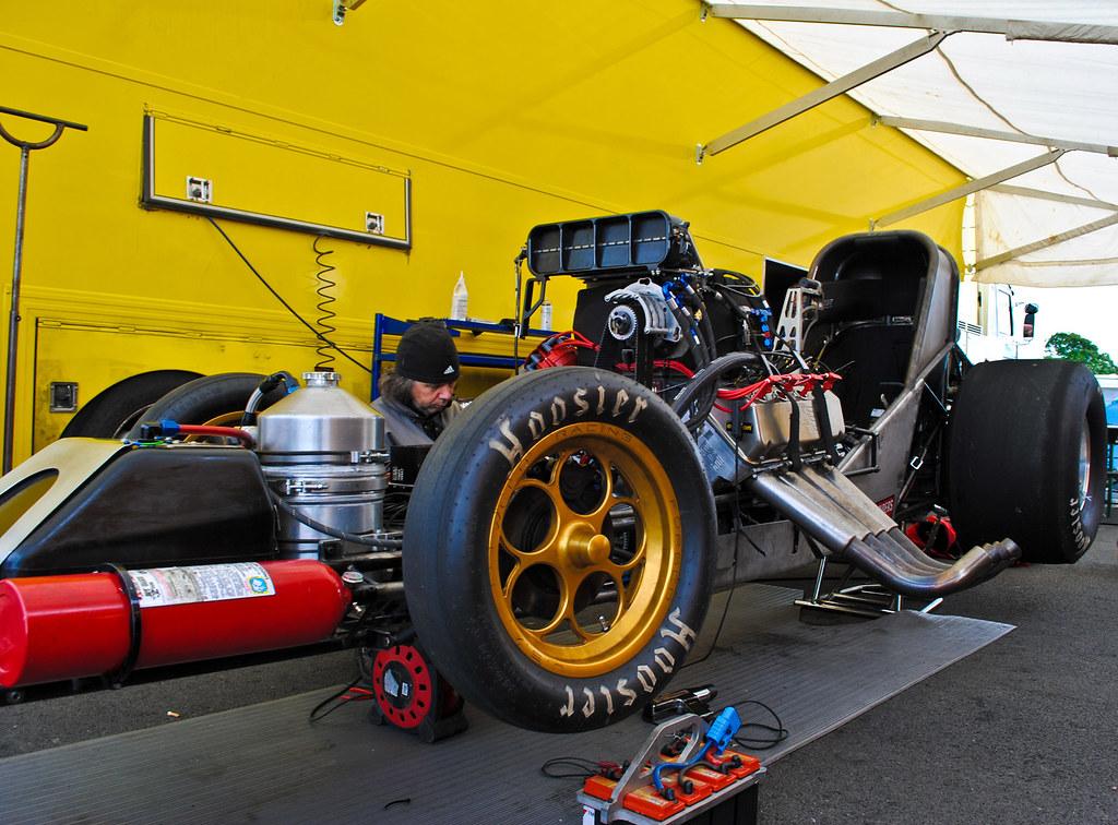 Hoosier Top Fuel Car
