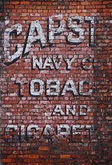 149: Ghost Sign (Red All Over) Tags: brick paint navy birkenhead advert tobacco ghostsign capstick cigarettest 3652011