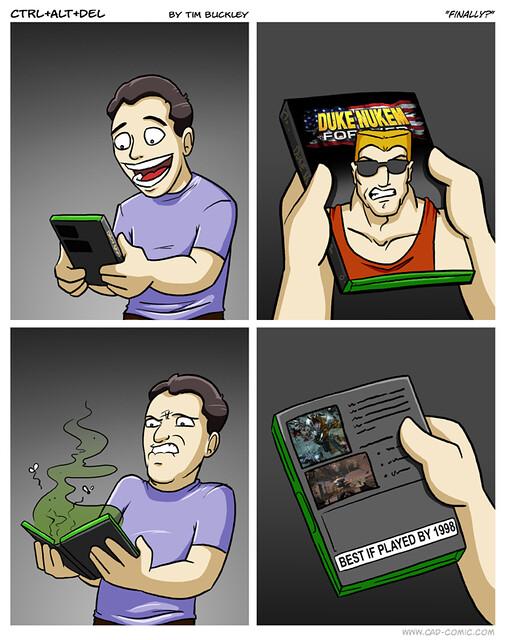 Viñeta Duke Nukem Forever