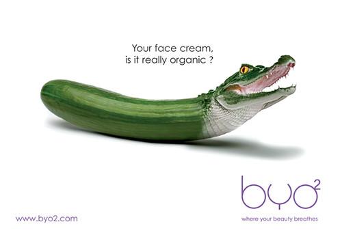 创意广告/鳄鱼头黄瓜
