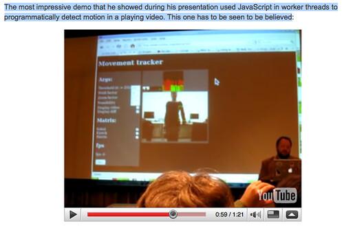 ArsTechnica: video de Chris Blizzard dans laquelle on trouve une vidéo de Delphine