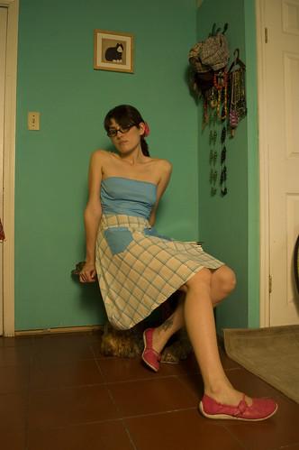 vestido: establo