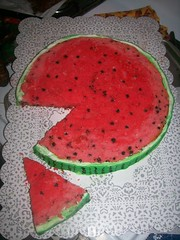 Watermellon cake (Enchanted Cakes of Brevard) Tags: cake watermelon watermellon