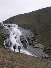 Katannilik - Place of many waterfalls (jaret_slipp) Tags: nunavut baffinisland nationaloutdoorleadershipschool kimmirut nolsbaffinisland soperriver nolsbackpacking nolscultural