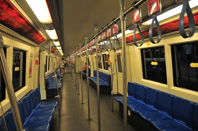 Quiet in the Bangkok underground
