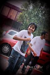 Rain, I don't mind. (Missy   Qatar) Tags: london day random rainy missy qatar alkhater mohammedbinabdulaziz