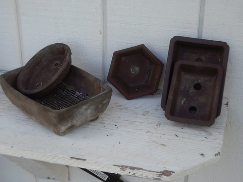 JAPANESE BONSAI POTS