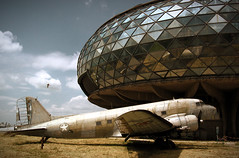 old airplane,architecture