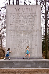 Youth (Fotomoe) Tags: youth children washingtondc dcist monolith theodorerooseveltisland nationalmemorial theodorerooseveltmemorial teddyrooseveltisland