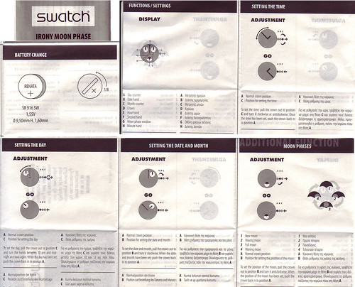 How To Set the Swatch Luar Moon Phase Watch