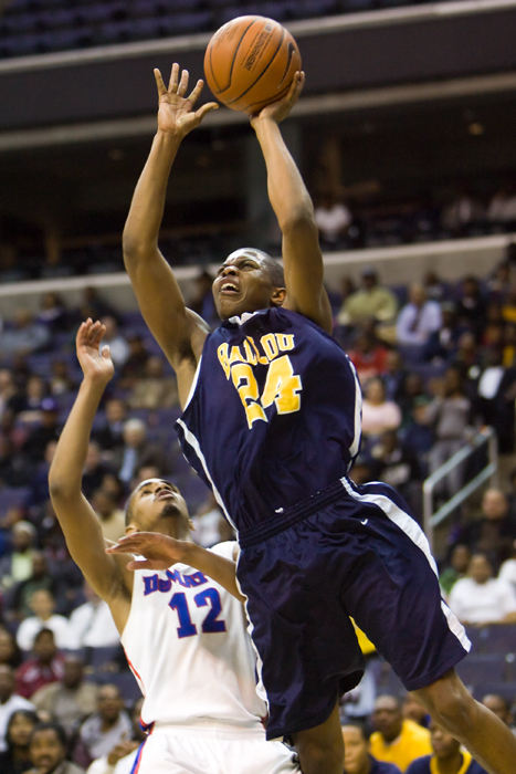 Ballou DeMatha boys high school basketball washington dc verizon center city title championship Donte Thomas Marcus Rouse