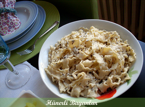 Kremalı Parmesan Peynirli Makarna