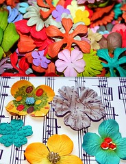 Embellishing flowers