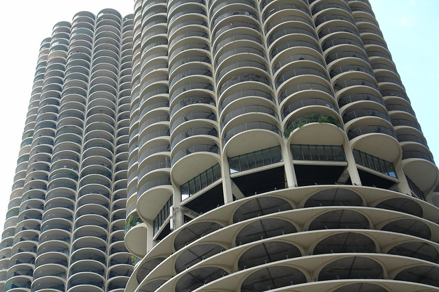"Marina City ""The Corncobs"", Chicago, Illinois, USA"