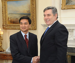 Gordon Brown meets Thai PM